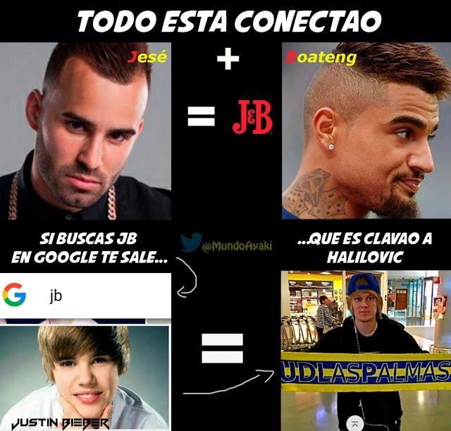 Meme Jesé Boateng Halilovic Justin Bieber