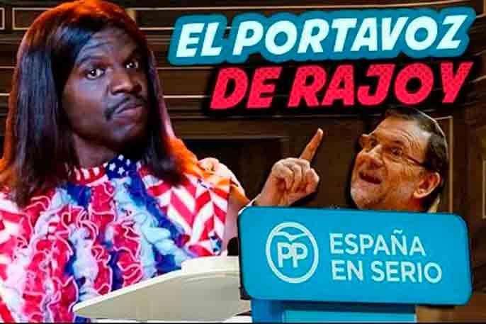 Portada El Portavoz de Rajoy (Ayaki)