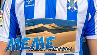 Imagen destacada Meme Camiseta CD Tenerife